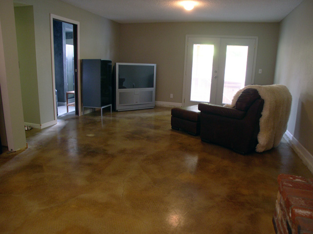 Concrete Basement Floor